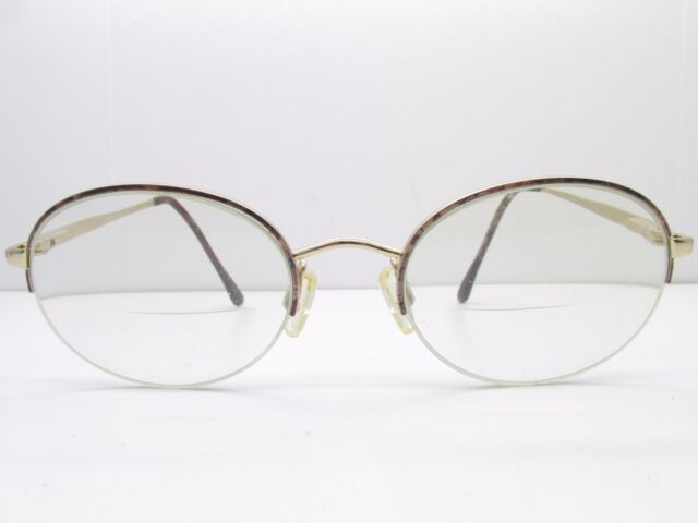 Anne Klein 001 K1112 Eyeglasses Frames 51-20-135 Half Rimless Oval ...