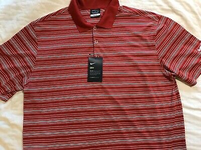 1f810c9c NEW NIKE TOUR PERFORMANCE UV DRI FIT POLO SHORT SLEEVED GOLF SHIRT MENS XL  $59