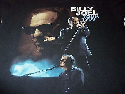 Billy Joel Tour Vintage Shirt ( Used Size L ) Very Good Condition!!!