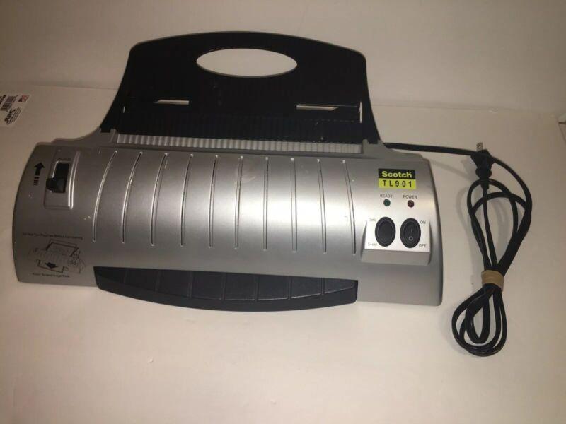 SCOTCH THERMAL LAMINATOR TL901 (3-mil & 5-mil)