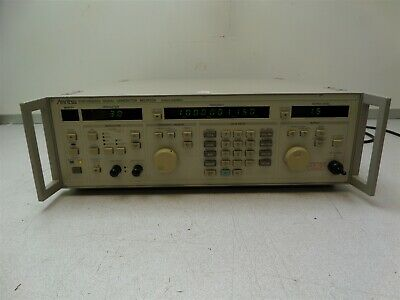 Anritsu Mg3632a Synthesized Signal Generator 100khz-2080mhz