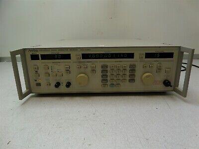 Anritsu Mg3632a Synthesized Signal Generator 100khz-2080mhz