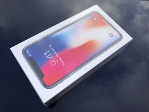 New Factory Unlocked iPhone X 64GB Space Gray
