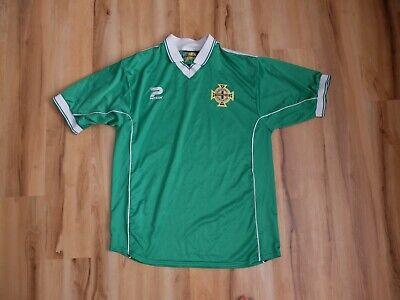 Rare Northern Ireland Irish Patrick Football Soccer Jersey Shirt Size 42/44 2000 image