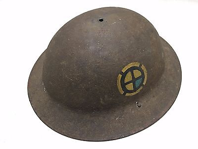 WW1 US Military 35th Division Helmet