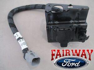 ford trailer plug ebay02 thru 04 f 250 f 350 super duty ford 4 \u0026 7 pin trailer tow wiring harness plug (fits ford)