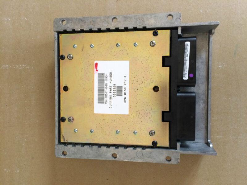 CUMMINS ONAN GENERATOR ELECTRONIC CONTROL MODULE 3092329 326-0158 CM552 QST30