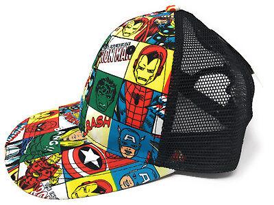 Dc Comics Superhelden (MARVEL AVENGERS SUPERHELDEN SNAPBACK KAPPE BASECAP CAP MÜTZE DC COMICS PRIMARK)