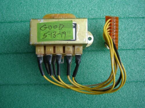 KIRBY LESTER KL-X ELECTRICAL TRANSFORMER DMT-6-15  USED,BUT TESTED+ Instructions