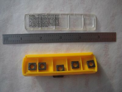 New 5pcs. Kennametal Spmt 32.51 Uf Kcp10 Steel Grade Indexable Carbide Inserts