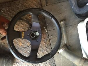 Momo Italy steering wheel