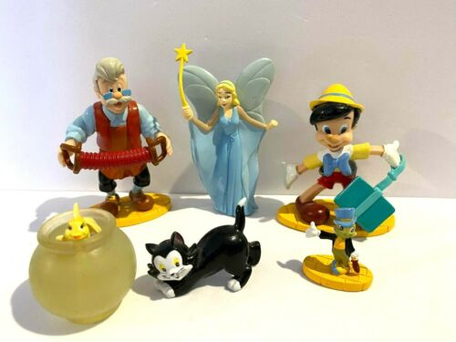 Applause - Disney Pinocchio PVC Figurines - from the 1990