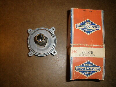Briggs Stratton Gas Engine Early Starter Clutch 293578 New Old Stock Vintage