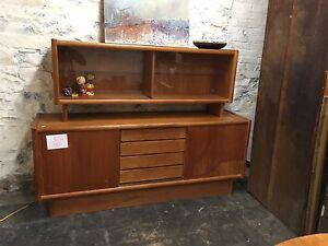Teak Credenza & Wardrobe Dresser SALE