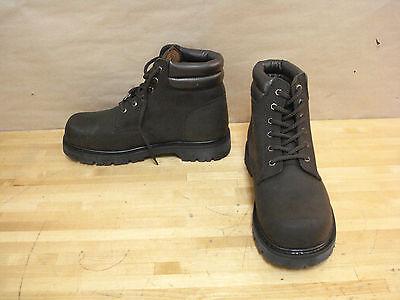 N-step 146-20981 Classic Steel Toe Work Boot Size 10 Brown