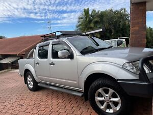 2013 Nissan Navara St (4x4) 5 Sp Automatic Dual Cab P/up
