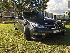 C63 amg 2011my12 low kms long rego Clemton Park Canterbury Area Preview