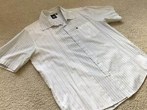 Two Men's Medium Firefly Shortsleeve Dress Shirts