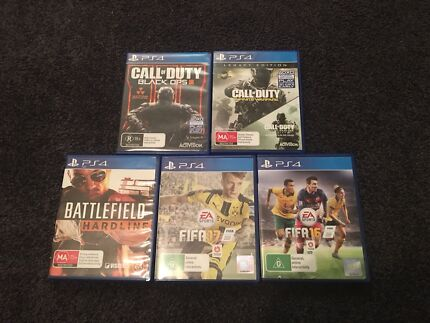 ps4 games -$90 for the lot
