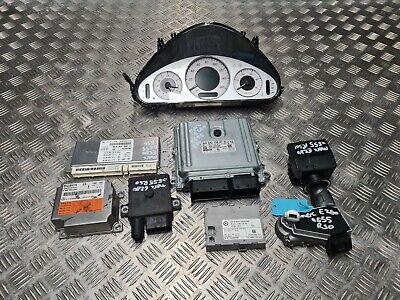Mercedes E280 CDI 2005 3.0 diesel ignition barrel key transponder engine ecu