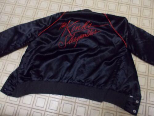 The Kinks-1977 Vintage Satin Promo Sleepwalker Medium Jacket