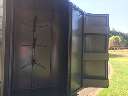 3 saddle swing out tack box for Horse Float