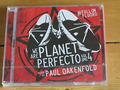 NEW/SEALED 2 CD Paul OAKENFOLD: We are Planet Perfecto Volume 4