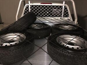 255/65/R17 NEW TYRES on rims x5 (Dunlop Grandtrek AT25) Zillmere Brisbane North East Preview