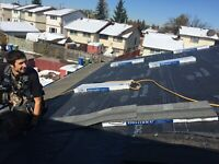 roofer with or without experience (willing to traine)