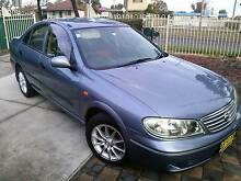 2003 Nissan Pulsar Sedan Deceased Estate Hebersham Blacktown Area Preview