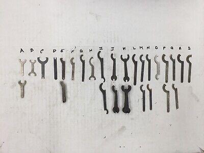Micrometer Wrench Mitutoyo Starrett Federal Bs Fowler Lufkin Etalon S-t Diatest