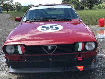 Alfa Romeo Alfetta Track Car