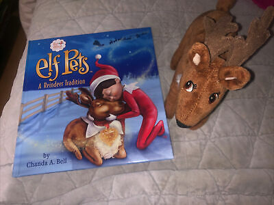 Elf On The Shelf Reindeer Pet With Book