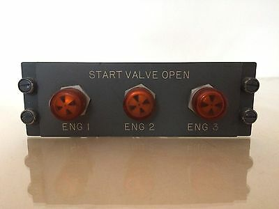 Boeing Start Valve Panel