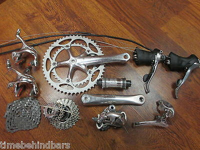 SHIMANO ULTEGRA 6510 175 53/39 COMPLETE GROUP GRUPPO BUILD KIT 9 SPEED DOUBLE