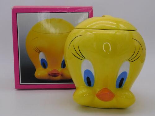 Warner Brothers 1995 Six Flags Theme Tweety Bird Head Cookie Jar