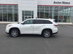 2015 Toyota Highlander XLE HEATED LEATHER;P/ROOF; P/SEAT;NAVI...