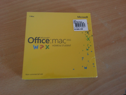 New Microsoft office 2011 for Mac