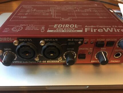 EDIROL Audio Interface FireWire FA-66