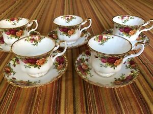 Royal Albert Old Country Roses Tea Cup & Saucer sets