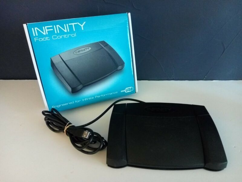 The Infinity Series USB Transcriber Foot Control Instrument IN-USB-2