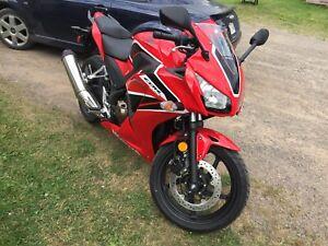 Honda CBR 300R motorbike