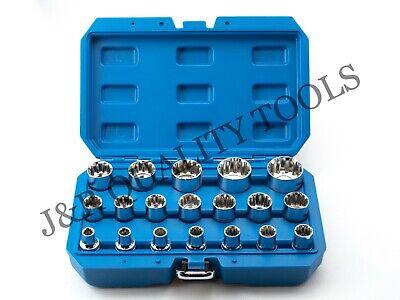 Vct 19 Pc 12 Drive Universal Spline Socket Set Mm 8-32