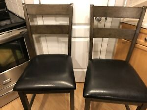 NEW LEATHERETTE BAR CHAIRS