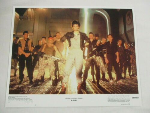 "Vintage Complete Movie Lobby Card Set 1986 ALIENS Sigourney"" Weaver"