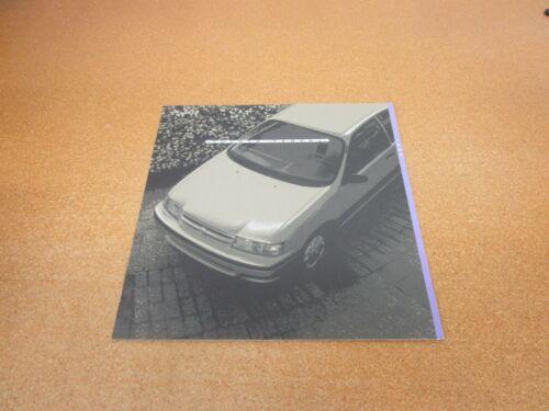 ORIGINAL 1994 Toyota Tercel sales brochure 16 page dealer literature
