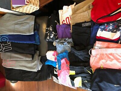 25 Piece LOT of Nike Athletic Workout Clothing Nike Dri-fit hoodies shorts