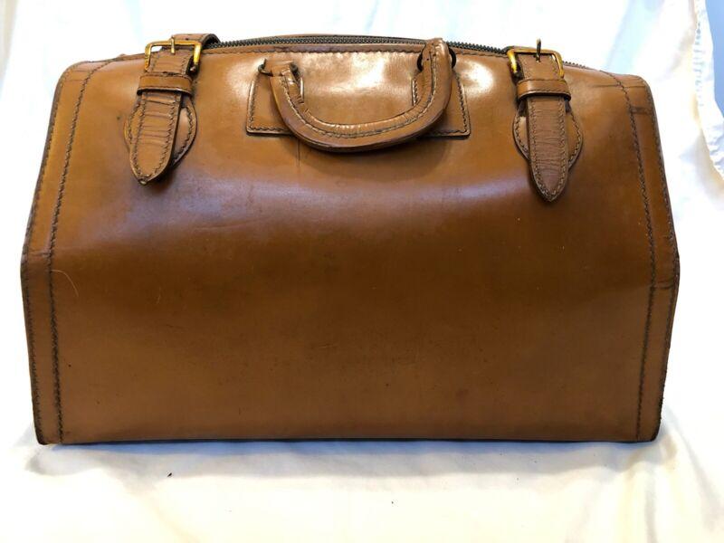 Top Grain Vintage Cowhide Doctor's Style Bag
