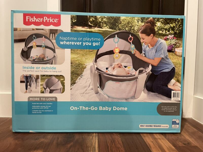*****Fisher-Price On-the-Go Baby Dome Baby Portable Play Yard (DRF13-9993)*****