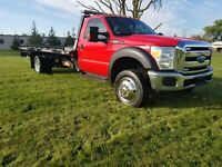 2016 Ford F-550 Flatbed Rollback Automatic